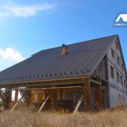 необычная крыша в великодолинском